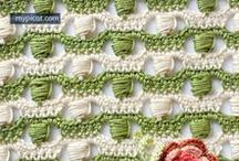 Fun Crochet Stitches and Borders / Crochet inspiration, patterns and tutorials! Stitches, borders/edging, etc.