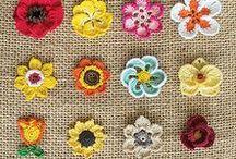 Crochet Appliques, Motifs & Flowers / Crochet inspiration, patterns and tutorials! Various crochet appliques, motifs and flowers.