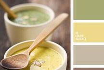 Color Palette Inspiration / Inspiration for color palettes.