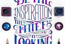 Typography & Quotes / Words! Wonderful words!