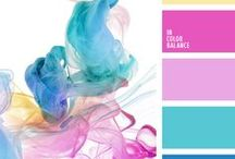 Exploring Colour / A mixture of ideas for colours schemes to be used in design, marketing, or anywhere!