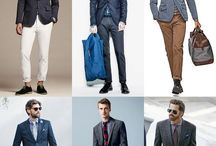 Men and Fashion / Suits, shirts, pants, shorts, jeans