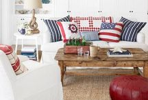 Hooray For Red,White and Blue, not just a Holiday / by Cindy