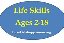 Childhood  / Ideas for teaching life skills,ADL's, & education. Craft ideas, menu's etc.  / by Angie Jacobus