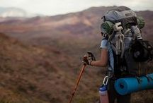 trails. / to travel. to explore. to hike and camp. to backpack and to just be wild and free.