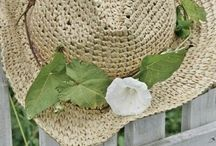 Baskets,Straw hats, totes and bags / by Cindy
