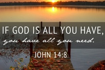♡ God is Good / by Candice Trenholm