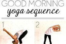 Yoga/Stretching / by Taryn Karlin