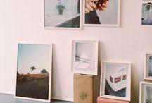 display. / Creative ways to go and display work