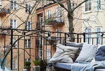 HOME | Balcony / Balcony decoration