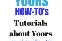 Tutorials about Yoors