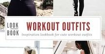 Inspiration  | Workout Outfits Lookbook / Cute workout outfits to make you motivated to work out!  #workout #outfits #ootd #motivation