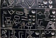 Language / Everything connected with ancient and modern languages and scripts.