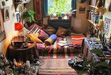Interiors / All sorts of beautifully designed rooms I'd like to spend some time in!
