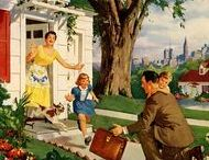 Postwar and Fifties / Happy days are here again - the world recovers from the War, a new way of life begins.