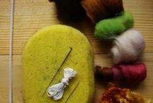 Needle felting / My inspiration for needle felting! Please follow my boards!