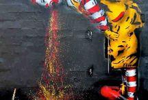 Awesome urban art / We love street art...