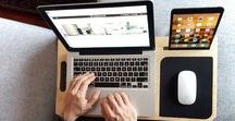 Portable Laptop Workstations / We love a portable workstation that looks cool, and is functional. Check these out peeps!