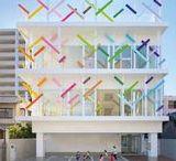 Material & Masse / Architektur, Beton, Metall, Papier, Bambus, nachhaltig, ökologisch