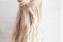 Hair styles / Pomysły na uczesanie włosów. Głównie długie włosy. Warkocze, kucyki itp.