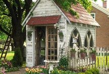 Shed: exteriors / by Kenda Morrison