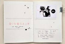 albums journals notebooks ... / by Christelle Landy