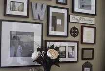 Decorating:  wall displays / by Kenda Morrison