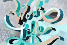 Letters and type / Typography