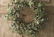 Wreaths of All Kinds /   / by Babe in the Woods