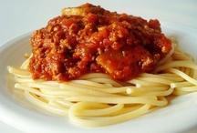 Pasta Recipes/Sauce Recipes