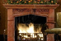 Fireplace Aglow / Fireplace aglow: A flame to warm the soul... Frozen fingers and frozen toes, pointing toward the ember glows. Warming the heart's glaze, while fixated on the fire's blaze. By Babe in the Woods / by Babe in the Woods