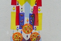 Fussed Glass/Up cycled Glass / This board is for any kind of up cycled glass and fussed glass / by Pamela Cole