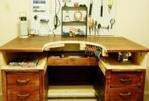DIY jeweler's bench / by Pamela Cole