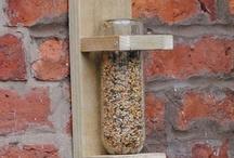 DIY Bird Feeders/Recycled / by Pamela Cole