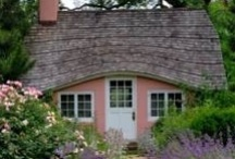 Cottages, Small Homes, Small Living / I would live in any of these precious little cottages/ small homes / by Pamela Cole