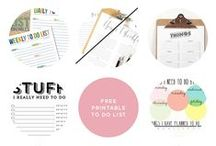 Organizing / how to organize everything