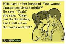 Husband & Wife Humor