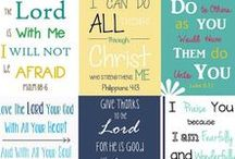faith / inspirational sayings, scripture study, all things God.