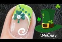 Easter & St. Patrick's Day Nail Art Video Tutorials