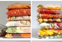 Can I can? Freezer meals Meal prep / Canning and freezer meal recipes.  Also meal prep planning
