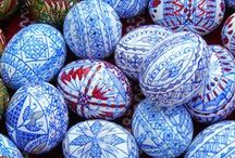 Egg Art - Romanian / by Betsy Buttram