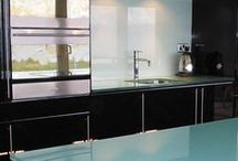 Glass splashback inspiration
