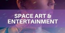 Space Art & Entertainment / Space is all around us, from movies to plays and from books to art. In this board, we curate the best of Space Art from around the world... and beyond! Discover more on: orbit.spacenation.org/category/entertainment