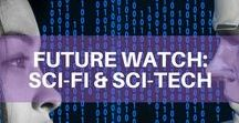 Future Watch: Sci-Fi & Sci-Tech / It's easy to get sucked in by the wild and wacky science of sci-fi movies and books, but did you know that some of the technology is becoming more than just science-fiction? Let's have a look at sci-fi inspired inventions and new sci-tech technology. Discover more on: orbit.spacenation.org/category/sci-tech/future-predictions