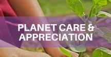 Planet Care & Appreciation / At Space Nation, we are strong advocates of making the future the cause of our present. We believe in the importance of caring for our planet and its animals to secure a just and sustainable world for present and future generations. What impact do you make in saving and educating others about our planet? For suggestions, have a look at: orbit.spacenation.org/lifestyle/sustainability