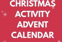 Christmas Activity Advent Calendar / Ideas for creating a Christmas Activity Advent Calender
