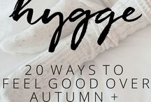Hygge: A Collection of Ideas for Beginners / A collection of pins all about hygge and how to incorporate it into your life