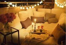 Balcony Decor Ideas / A collection of home decor ideas for our balcony.