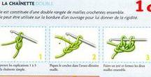 Points au crochet / Tous les points au crochets en détail & des schémas sympa pour débuter
