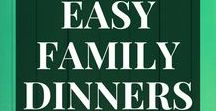 Easy family dinners / Calling all busy Moms! Skip the drive through and find an easy, simple, family friendly dinner recipe here! Dinners your kids will actually eat. Quick wholesome family dinner solutions! WANT TO BE A CONTRIBUTOR? Fill out this form: https://www.realmomrecs.com/pinterest-group-board-form/  Only pin recipes that are simple and kid-friendly (nothing too out there or spicy). Casseroles, crock pot, one pot, instant pot, dump and bake all encouraged!